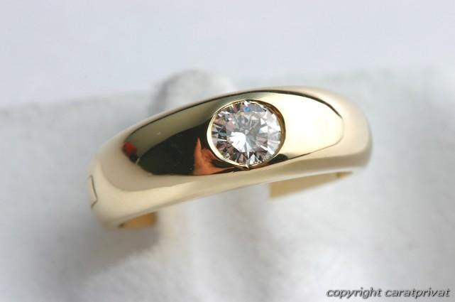 brillantring 750 gold 18 kt diamant ring mit brillant brilliant solit r 0 25 ct. Black Bedroom Furniture Sets. Home Design Ideas